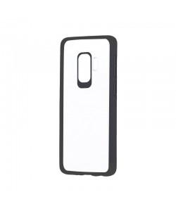 Devia Pure Style Black - Samsung Galaxy S9 Plus Carcasa (antishock, spate dur si margini mate & flexibile)