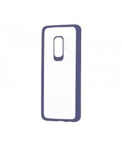 Devia Pure Style Navy - Samsung Galaxy S9 Plus Carcasa (antishock, spate dur si margini mate & flexibile)