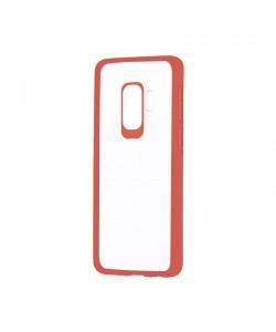 Devia Pure Style Red - Samsung Galaxy S9 Plus Carcasa (antishock, spate dur si margini mate & flexibile)