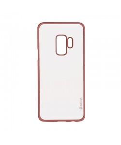 Devia Glitter Soft Rose Gold - Samsung Galaxy S9 Plus Carcasa Silicon