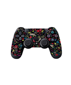 Flowers and Leaves - PS4 Dualshock Controller Skin