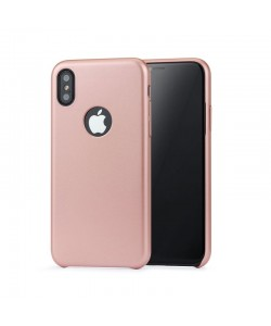 Meleovo Pure Gear I Rose Gold - iPhone X Carcasa Plastic