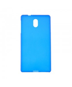 Just Must Candy - Nokia 3 Carcasa Silicon Semitransparent Blue