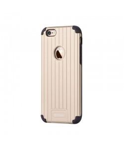 Devia Suitcase Champagne Gold - iPhone 6 Plus Carcasa PC