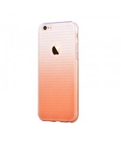Devia Leo Gradient Diamond Champagne Gold - iPhone 6/6S Carcasa Silicon