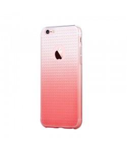 Devia Leo Gradient Diamond Rose Gold - iPhone 6/6S Carcasa Silicon