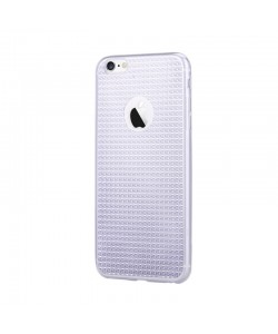 Devia Sparkle Crystal Black - iPhone 6/6S Carcasa Silicon