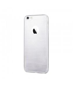 Devia Sparkle Crystal Clear - iPhone 6/6S Carcasa Silicon