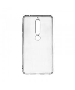 Lemontti - Nokia 6.1 (Nokia 6 2018) Carcasa Silicon Transparent