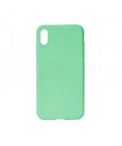 Procell Silky - iPhone X Carcasa Silicon Verde Crud