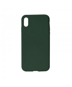 Procell Silky - iPhone X Carcasa Silicon Khaki