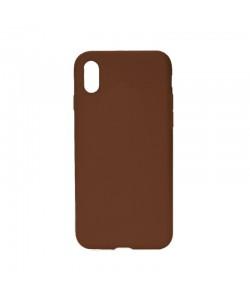 Procell Silky - iPhone X Carcasa Silicon Maro