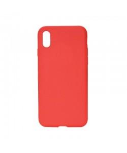 Procell Silky - iPhone X Carcasa Silicon Rosu