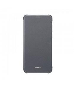 Huawei Flip Cover Black - Huawei P Smart Husa Flip Neagra