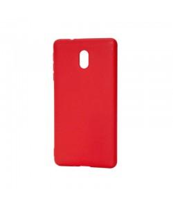 Procell Silky - Nokia 3 Carcasa Silicon Rosu