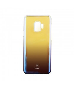 Baseus Glaze Dark Blue - Samsung Galaxy S9 Carcasa Transparenta