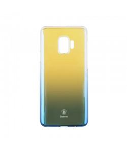 Baseus Glaze Transparent Blue - Samsung Galaxy S9 Carcasa Transparenta
