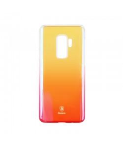 Baseus Glaze Transparent Pink - Samsung Galaxy S9 Plus Carcasa Transparenta