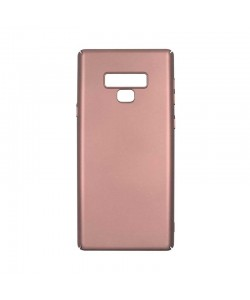 Just Must Uvo Rose Gold - Samsung Galaxy Note 9 Carcasa Plastic (material fin la atingere, slim fit)
