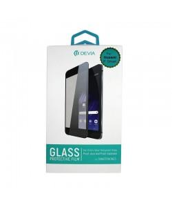 Folie Devia Frame Sticla Temperata Black (1 fata Anti-Shock, 9H, 2.5D, 0.26mm) - Huawei P Smart