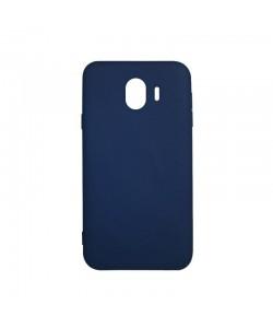Procell Silky - Samsung Galaxy J4 (2018) Carcasa Silicon Albastru
