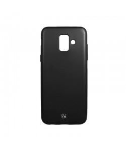 Just Must Lanker Black - Samsung Galaxy J6 (2018) Carcasa Silicon Negru