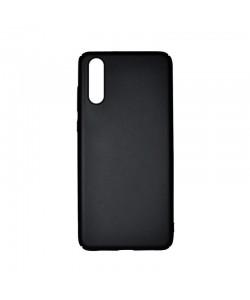 Just Must Uvo Black - Huawei P20 Carcasa Plastic (material fin la atingere, slim fit)