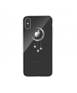 Devia Meteor Silver - iPhone XS Max Carcasa Policarbonat