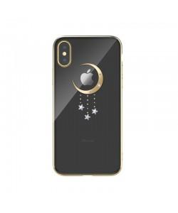 Devia Meteor Gold - iPhone XS Max Carcasa Policarbonat