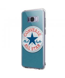Converse - Samsung Galaxy S8 Plus Carcasa Transparenta Silicon