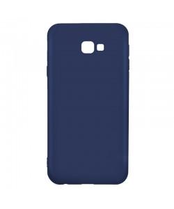 Procell Silky - Samsung Galaxy J4 Plus Carcasa Silicon Albastru