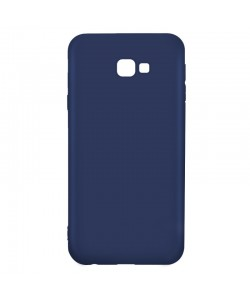 Just Must Candy Navy - Samsung Galaxy J4 Plus Carcasa Silicon Albastru