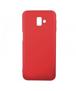 Just Must Candy Red - Samsung Galaxy J6 Plus Carcasa Silicon Rosu