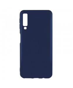 Procell Silky - Samsung Galaxy A7 (2018) Carcasa Silicon Albastru