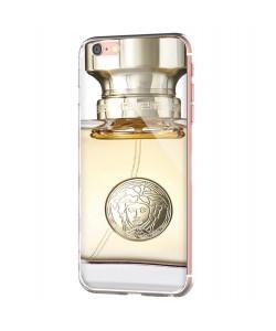 Versace Perfume - iPhone 6 Carcasa Transparenta Silicon