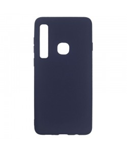 Just Must Candy Navy - Samsung Galaxy A9 (2018) Carcasa Silicon