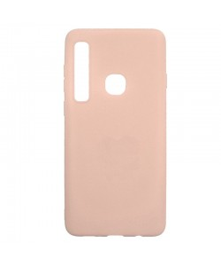 Just Must Candy Pink - Samsung Galaxy A9 (2018) Carcasa Silicon