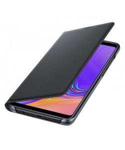 Samsung Wallet Cover Black - Samsung Galaxy A9 (2018) Husa Book Neagra