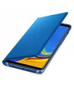 Samsung Wallet Cover Blue - Samsung Galaxy A9 (2018) Husa Book Albastra