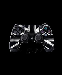 Black UK Flag - PS4 Dualshock Controller Skin