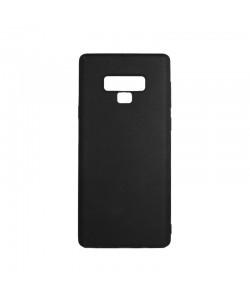 Lemontti Silky - Samsung Galaxy Note 9 Carcasa Silicon Negru