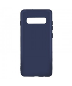 Just Must Candy Navy - Samsung Galaxy S10 Carcasa Silicon