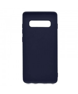 Just Must Candy Navy - Samsung Galaxy S10 Plus Carcasa Silicon