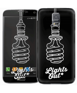 Lights Out - Samsung Galaxy S5 Skin