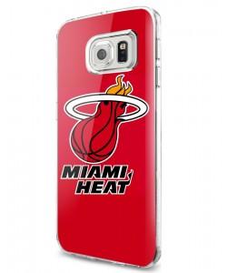 Miami Heat - Samsung Galaxy S7 Carcasa Silicon