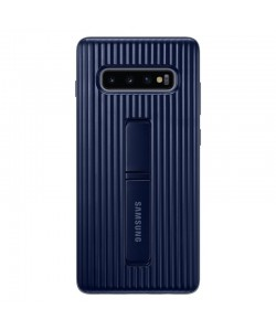 Protective Standing Blue - Samsung Galaxy S10 Plus Carcasa