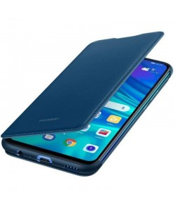 Huawei Book Wallet Cover Blue - Huawei P Smart (2019) Husa Book