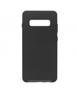 Devia KimKong Black - Samsung Galaxy S10 Plus Carcasa (antishock, din doua bucati)