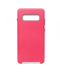 Devia KimKong Pink - Samsung Galaxy S10 Plus Carcasa (antishock, din doua bucati)