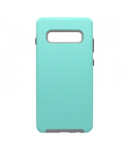 Devia KimKong Green - Samsung Galaxy S10 Plus Carcasa (antishock, din doua bucati)